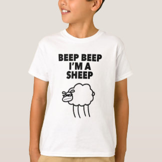 Beep Beep I'm A Sheep Meme Tee Shirt
