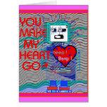 Beep ! Beep ! RoBoT Valentine's Card