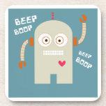 Beep Boop Drink Coasters