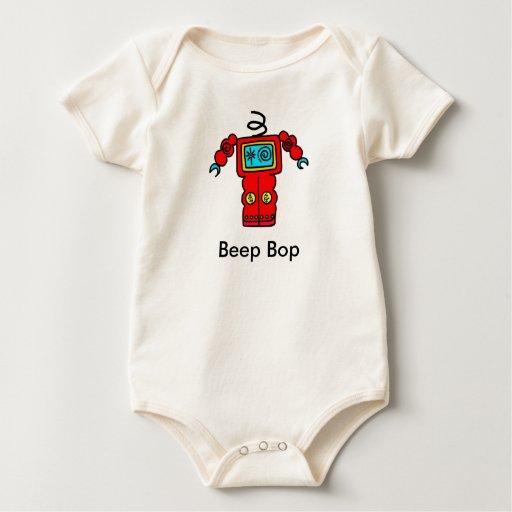 Beep Bop headless Robot Romper