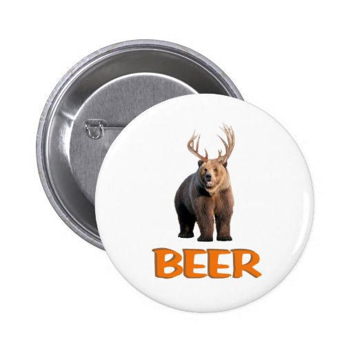 Beer 2 Inch Round Button