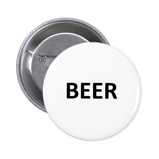 BEER 2 INCH ROUND BUTTON