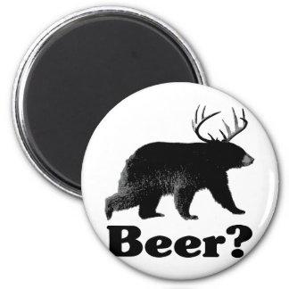 Beer? 2 Inch Round Magnet
