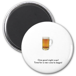 beer 2 inch round magnet