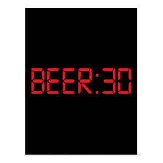 Beer 30 Thirty Irish Postcard