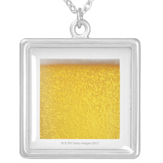 Beer 4 silver plated necklace