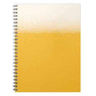 Beer 4th design spiral notebook