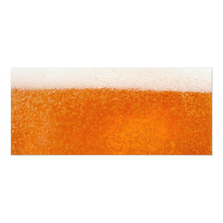 Beer 4x9.25 Paper Invitation Card
