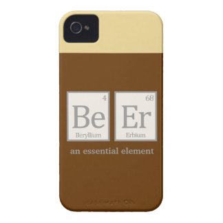 Beer, an essential element Case-Mate iPhone 4 case
