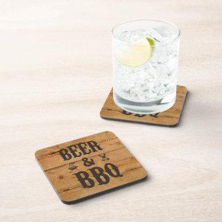 Beer and BBQ Beverage Coaster