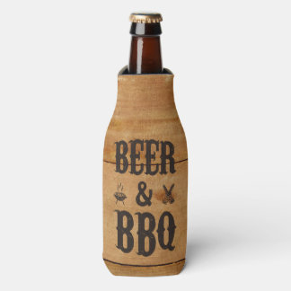 Beer and BBQ Bottle Cooler