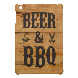 Beer and BBQ Cover For The iPad Mini