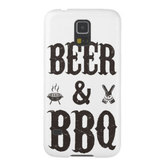 Beer and BBQ Galaxy S5 Case