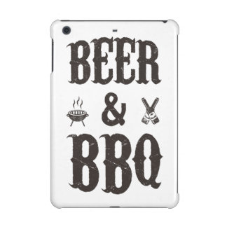 Beer and BBQ iPad Mini Cover