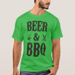 Beer and BBQ T-Shirt