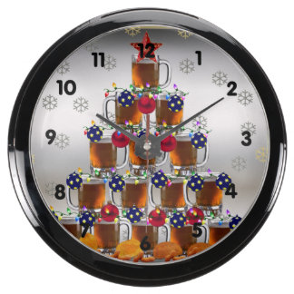 Beer and Chips Fish Tank Clocks