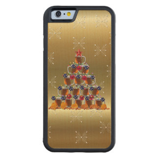 Beer and Chips Carved® Maple iPhone 6 Bumper