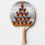 Beer and Chips Ping Pong Paddle