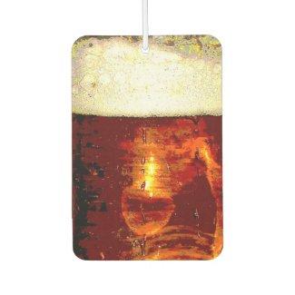 Beer and Foam Air Freshener
