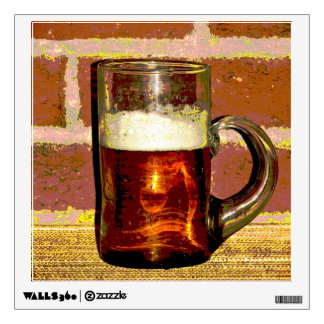 Beer and Foam Wall Graphics