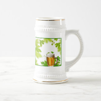 Beer and Hop Plant Mugs