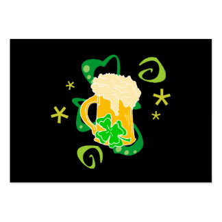Beer and Irish Cheer Large Business Cards (Pack Of 100)