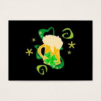 Beer and Irish Cheer Business Card
