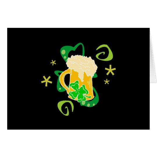 Beer and Irish Cheer Card