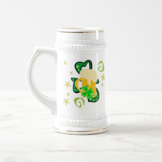 Beer and Irish Cheer mug