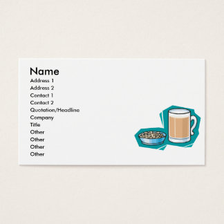 beer and nuts business card