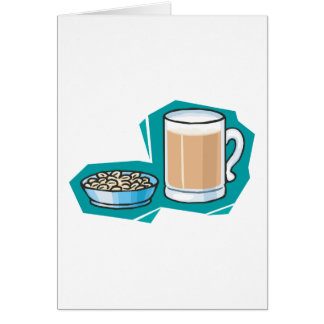 beer and nuts card