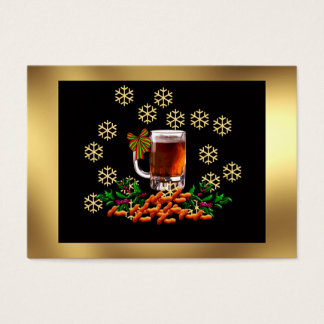 Beer and Peanuts Business Card