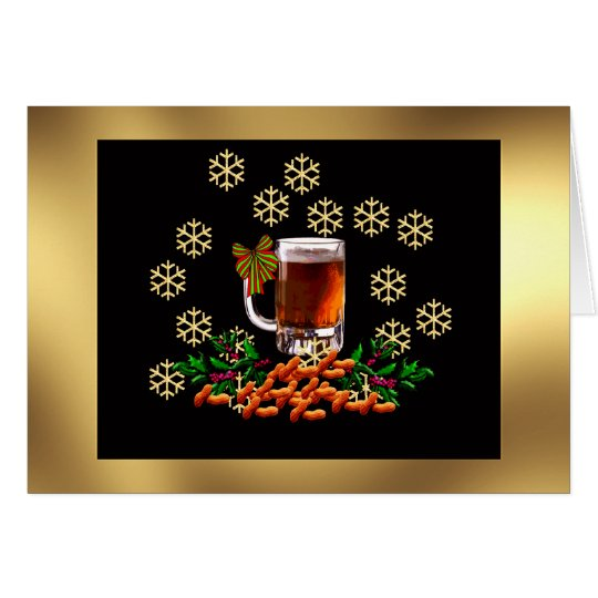 Beer and Peanuts Card