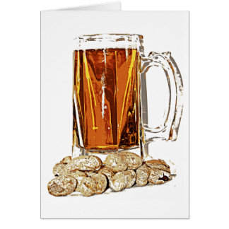 Beer and Peanuts Card