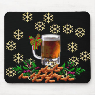 Beer and Peanuts Mouse Pad