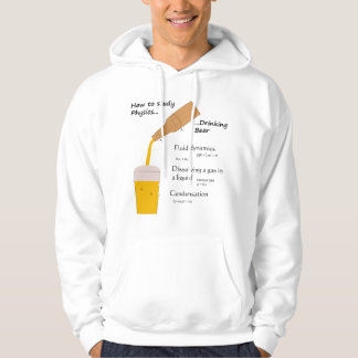 Beer and Physics hoodie