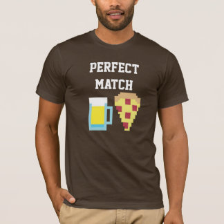 Beer and Pizza Men T-Shirt