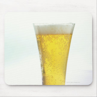 Beer and pretzels mouse pad
