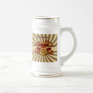 Beer and Pretzels Oktoberfest Stein Mug