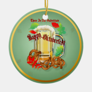 Beer and Pretzels-There is NO substitute.  Orname Ornament
