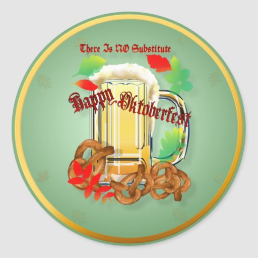 Beer and Pretzels-There is NO substitute.Stickers