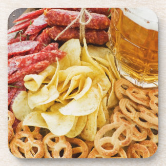 Beer And Snacks 2 Coaster