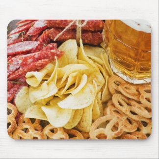 Beer And Snacks 2 Mousepads