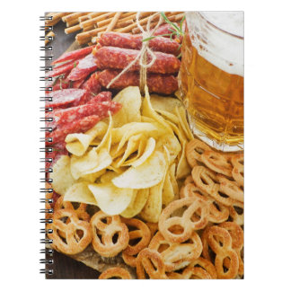 Beer And Snacks 2 Note Book