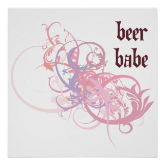 Beer Babe Posters