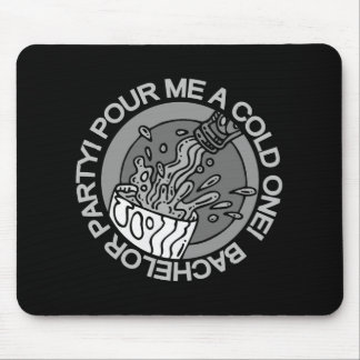 Beer Bachelor Party Tshirts and Gifts Mouse Pad