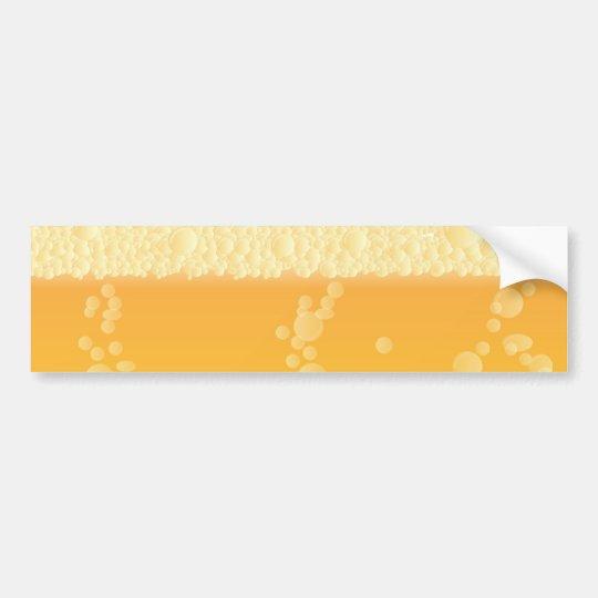 Beer Background Bumper Sticker