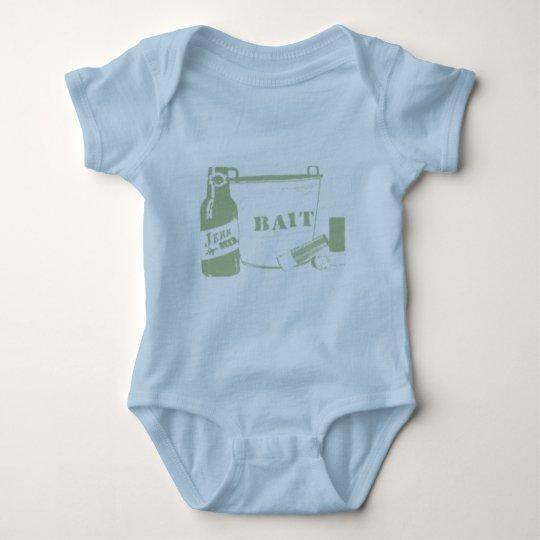 beer bait and ammo baby bodysuit