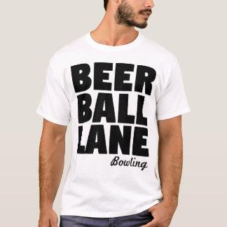 Beer Ball Lane Bowling T-Shirt