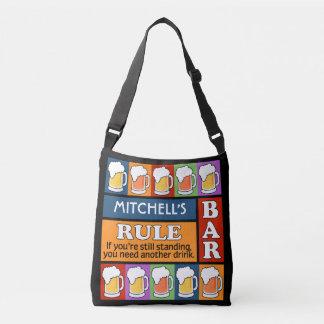 BEER Bar Pop Art custom name bags